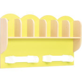 mytibo regal f r zahnputzbecher und papierhandt cher. Black Bedroom Furniture Sets. Home Design Ideas