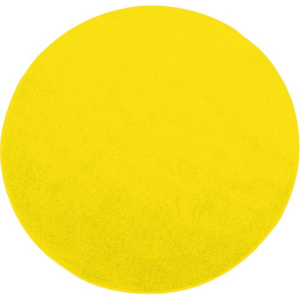 mytibo rundteppich durchmesser 40 cm gelb. Black Bedroom Furniture Sets. Home Design Ideas