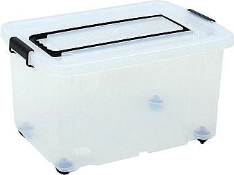 mytibo plastikbeh lter auf rollen mit griff zum ziehen. Black Bedroom Furniture Sets. Home Design Ideas