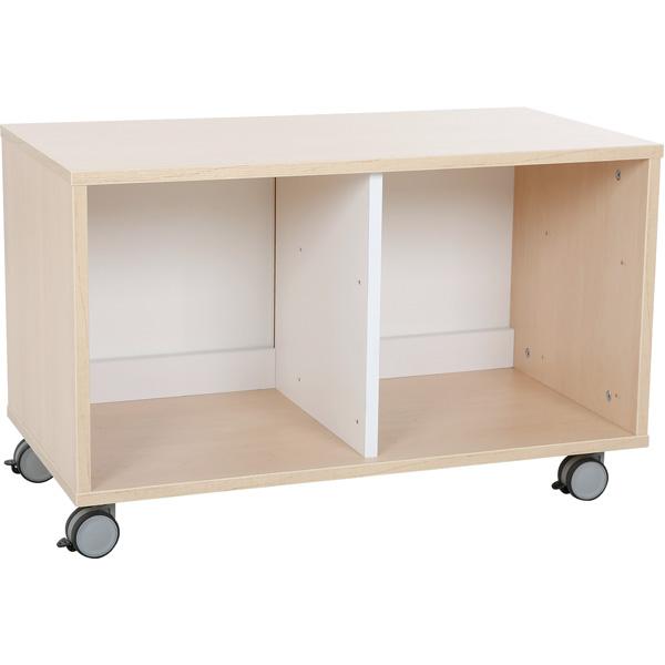 mytibo quadro schrank s f r 4 schmale schubladen b 79 auf rollen. Black Bedroom Furniture Sets. Home Design Ideas