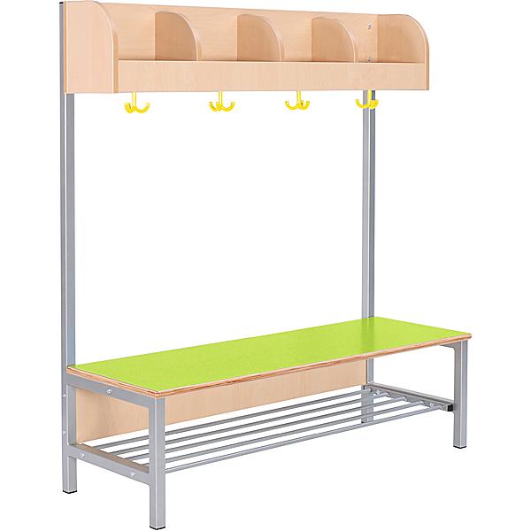 Mytibo garderobe flexi 4 mit gestell sitzh he 26 cm for Garderobe 28 cm tief