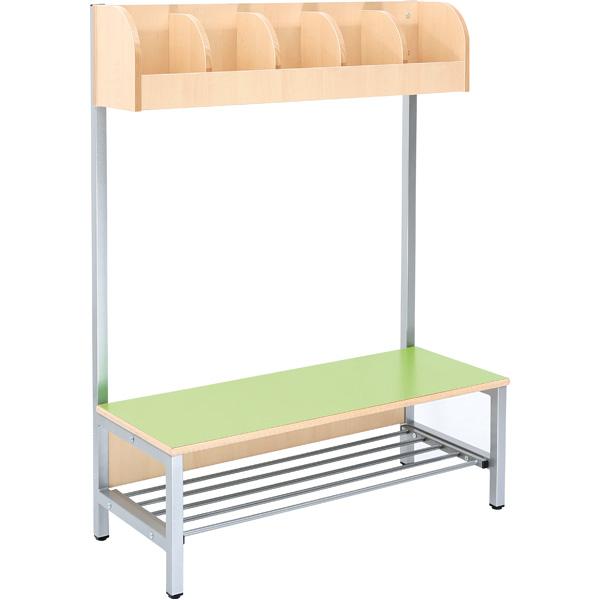 mytibo garderobe flexi 5 mit gestell sitzh he 26 cm. Black Bedroom Furniture Sets. Home Design Ideas