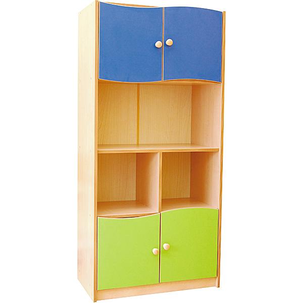 mytibo schrank m rchenland gr n blau. Black Bedroom Furniture Sets. Home Design Ideas