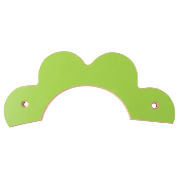 Mytibo applikation bl te gr n for Einfache garderobenleiste