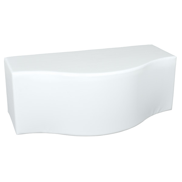 mytibo sitz welle weiss sitzh he 44 cm. Black Bedroom Furniture Sets. Home Design Ideas
