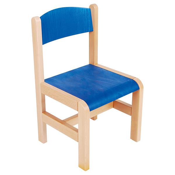 mytibo stuhl leon 2 sitzh he 31 cm f r tischh he 53 cm blau. Black Bedroom Furniture Sets. Home Design Ideas