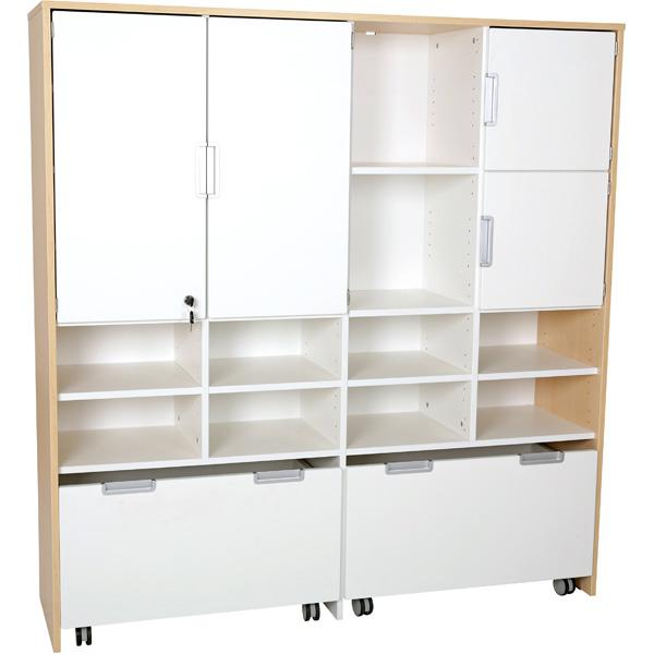 mytibo quadro mehrfunktionen schrank xl f r rollbeh lter b 154. Black Bedroom Furniture Sets. Home Design Ideas