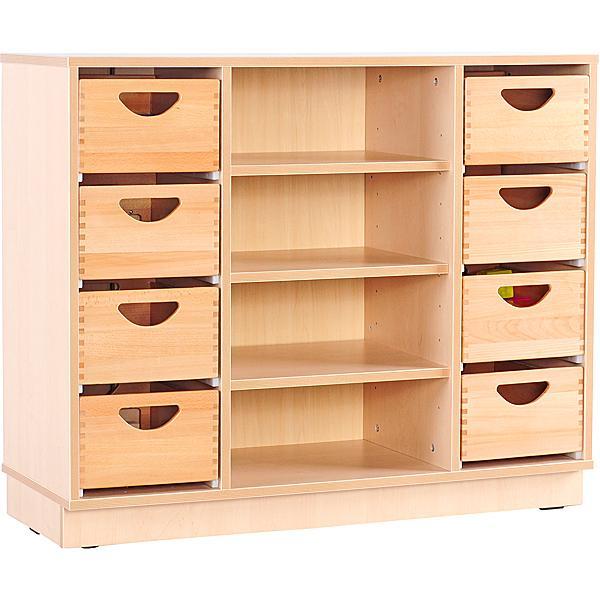 mytibo schrank m f r holzbeh lter und mit einlegeb den auf sockel. Black Bedroom Furniture Sets. Home Design Ideas