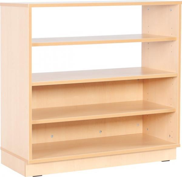 mytibo schrank m halboffen mit 3 einlegeb den auf sockel. Black Bedroom Furniture Sets. Home Design Ideas