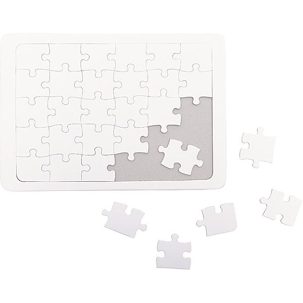 Puzzle weiss A4